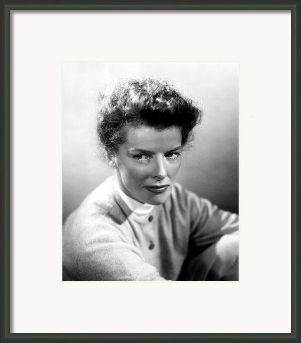 Summertime, Katharine Hepburn, 1955 Framed Print By Everett