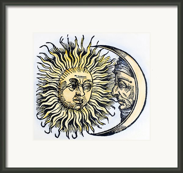 Sun And Moon, 1493 Framed Print By Granger