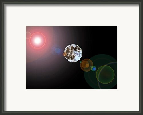Sun Moon Planets Framed Print By Paul Mashburn