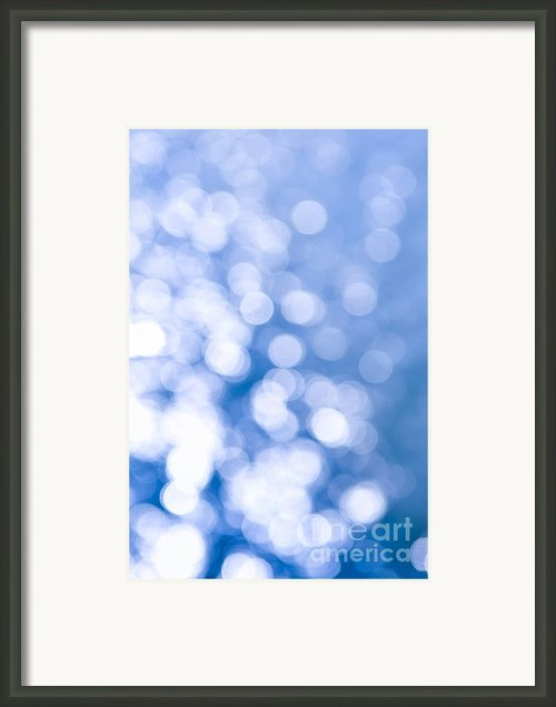 Sun Reflections On Water Framed Print By Elena Elisseeva
