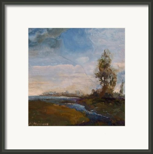 Sunlit Stream Framed Print By Ruth Stromswold