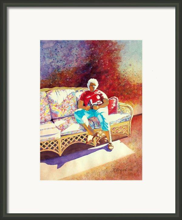 Sunny Retreat 3 Framed Print By Kathy Braud