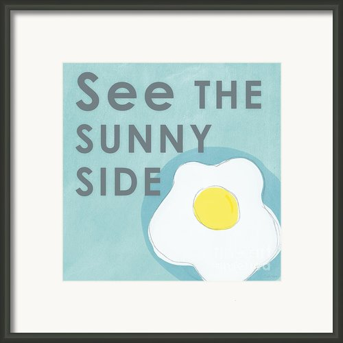 Sunny Side Framed Print By Linda Woods