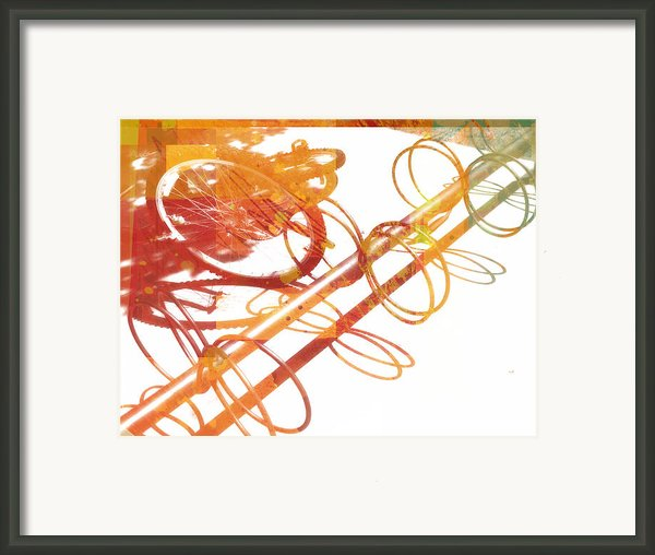 Sunny Summer Afternoon Framed Print By Ann Powell