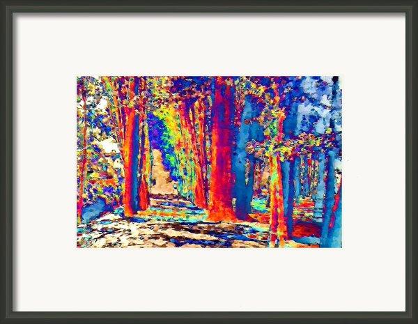 Sunny Vacation Framed Print By Navo Art