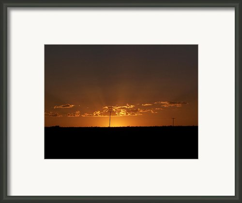 Sunrise 2 Framed Print By Travis Wilson