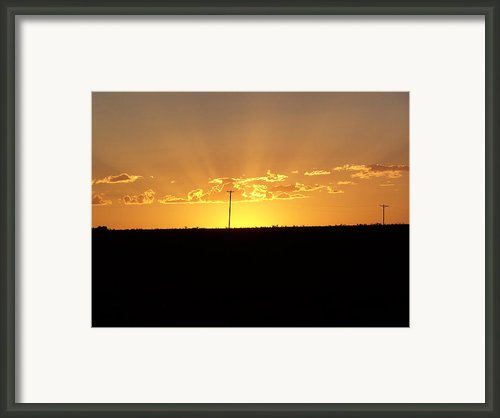 Sunrise 3 Framed Print By Travis Wilson