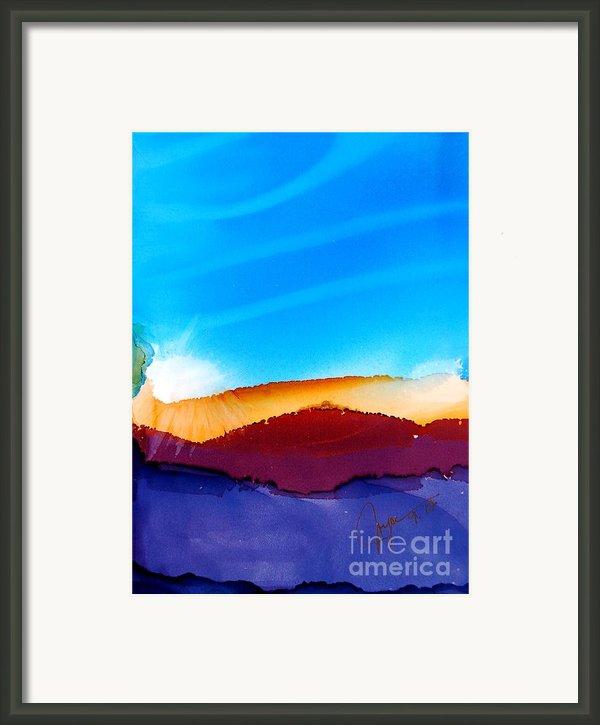 Sunrise Framed Print By Joyce Auteri