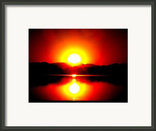 Sunset 3 Framed Print By Travis Wilson