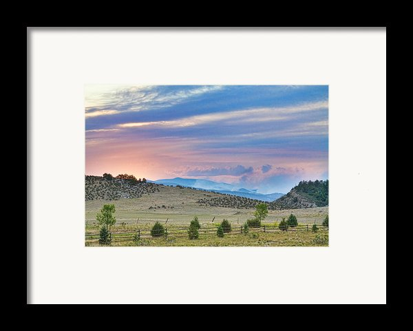 Sunset At The Colorado High Park Wildfire  Framed Print By James Bo  Insogna