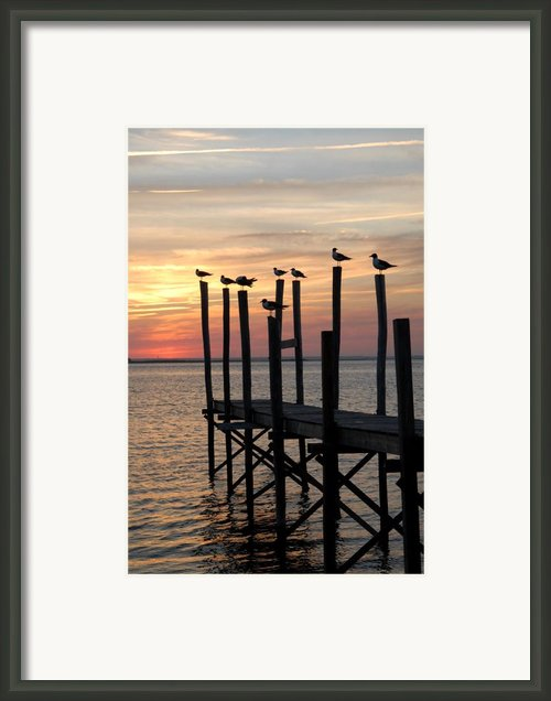 Sunset Bay 27 Framed Print By Joyce Stjames