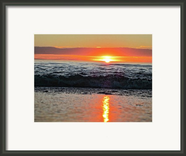 Sunset Beach Framed Print By Douglas Barnard