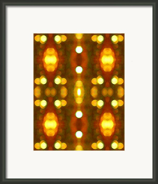 Sunset Glow 2 Framed Print By Amy Vangsgard