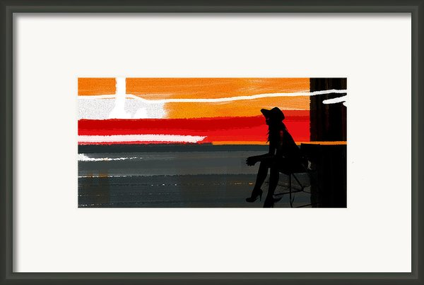 Sunset In Hamptons Framed Print By Irina  March