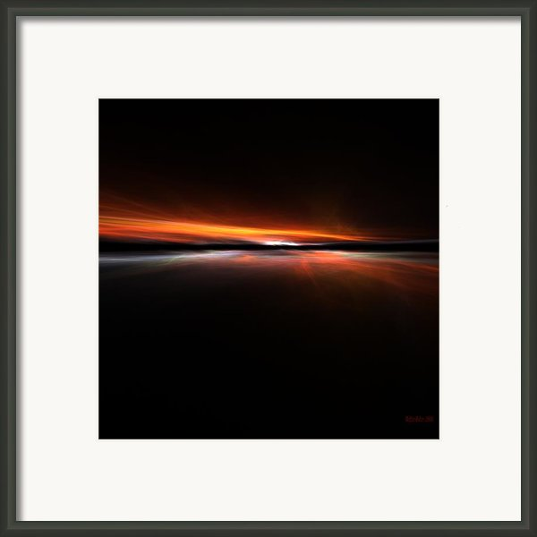 Sunset Island Framed Print By Stefan Kuhn