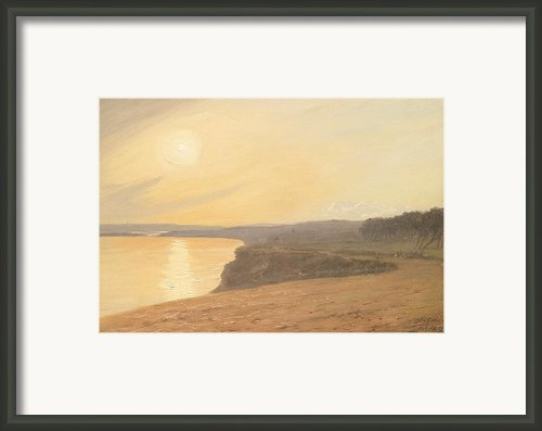 Sunset Framed Print By James Hallyar