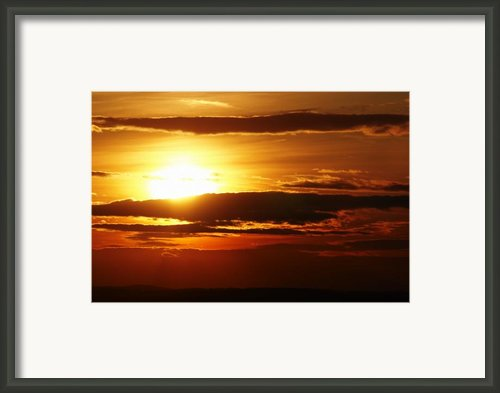 Sunset Framed Print By Michal Boubin