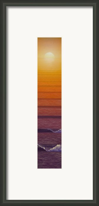 Sunset Framed Print By Tim Foley