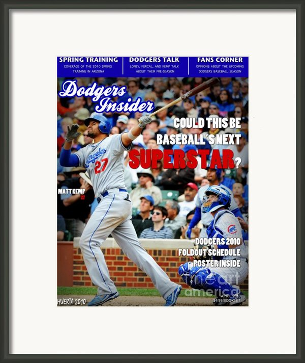 Superstar Kemp Framed Print By Jesus Javier Huerta