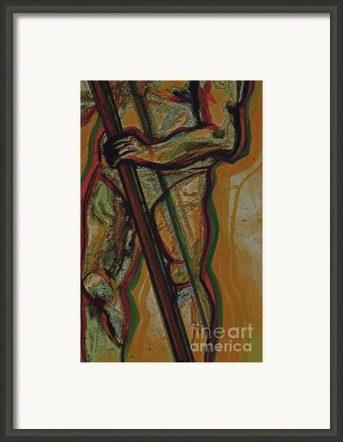 Support Framed Print By First Star Art