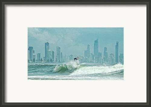 Surfers Paradise Framed Print By Thomas Kurmeier