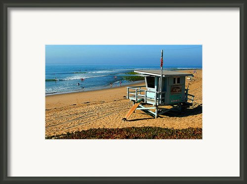 Surfrider 4th Framed Print By Ron Regalado
