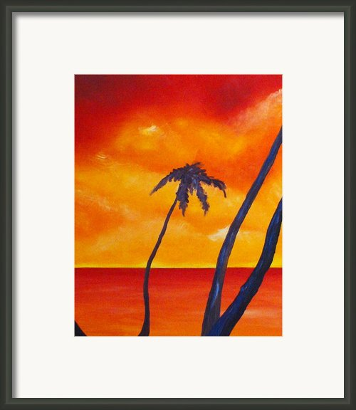 Surprise Sunrise Framed Print By Joseph Palotas