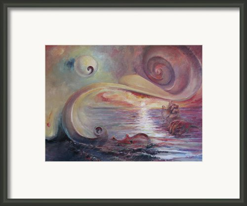 Surrealistic Improvisation Framed Print By Tigran Ghulyan
