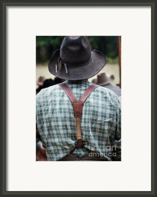 Suspended Cx Framed Print By Fred Lassmann