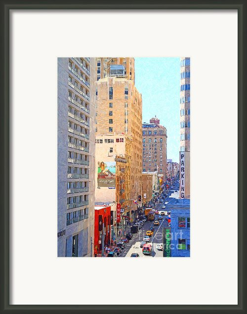 Sutter Street San Francisco Framed Print By Wingsdomain Art And Photography