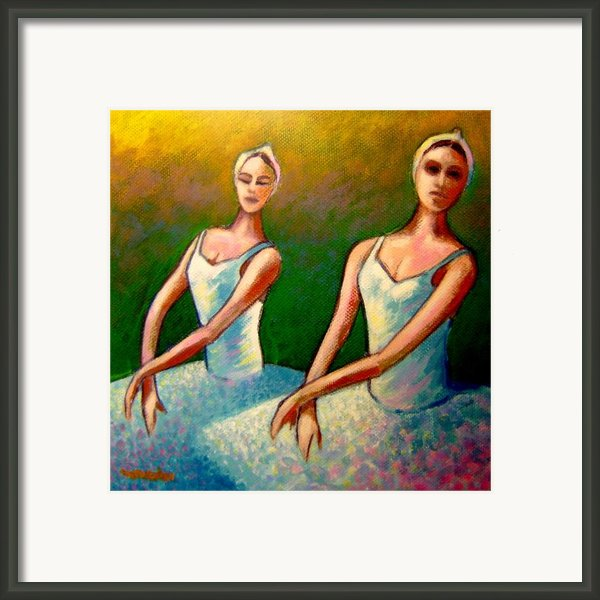 Swan Lake I Framed Print By John  Nolan
