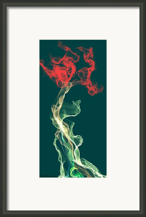Sweet Intoxication Framed Print By Marina R Vladis