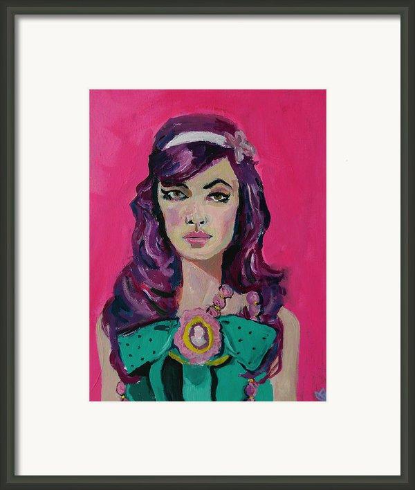 Sweet Like Barbie Framed Print By Adam Kissel