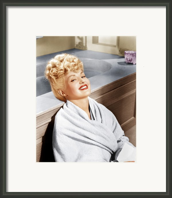 Sweet Rosie Ogrady, Betty Grable, 1943 Framed Print By Everett