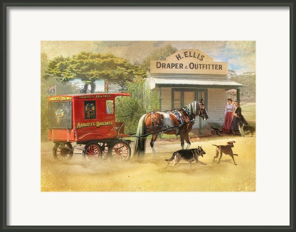 Sweet Treats Framed Print By Trudi Simmonds