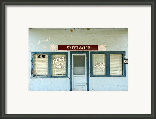 Sweetwater Store Framed Print By Jeff Lowe
