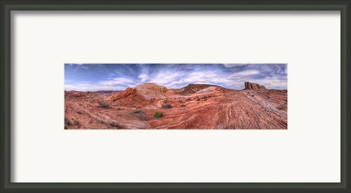 Swept Away Framed Print By Stephen Campbell
