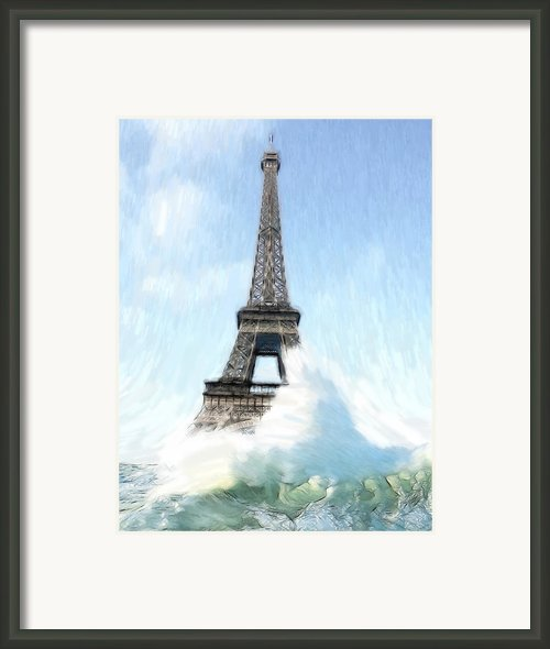 Swimming Pleasure In Paris Framed Print By Stefan Kuhn
