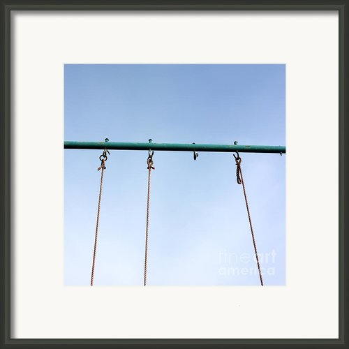 Swing Framed Print By Bernard Jaubert