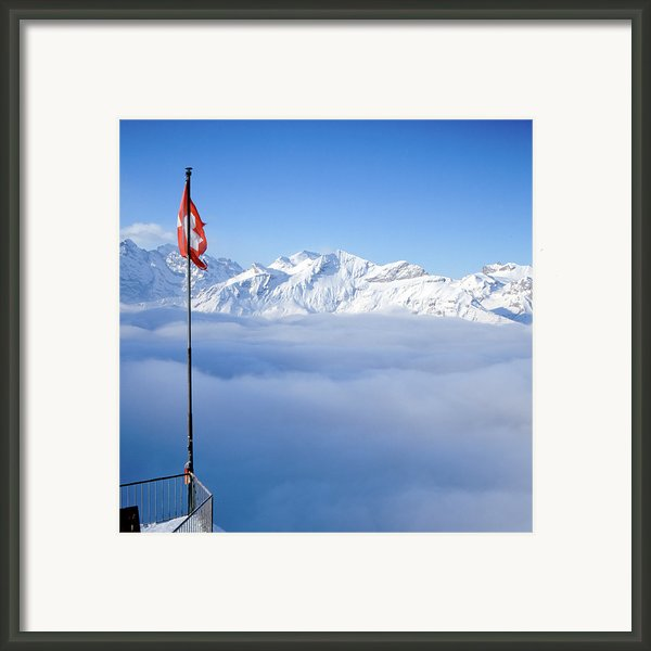 Swiss Alps Panorama Framed Print By Image By Christian Senger