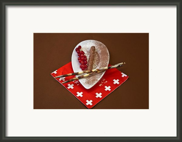 Swiss Chocolate Praline Framed Print By Joana Kruse
