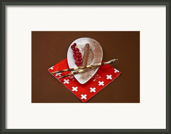 Swiss Chocolate Praline Framed Print By Joana Kruse
