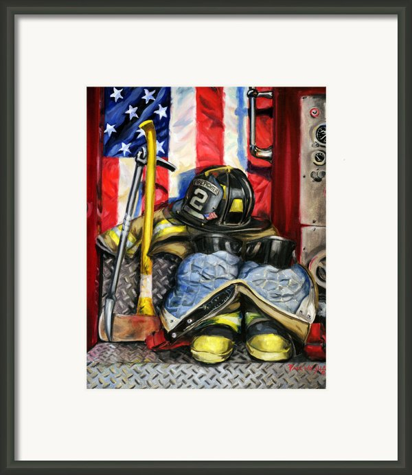 Symbols Of Heroism Framed Print By Paul Walsh