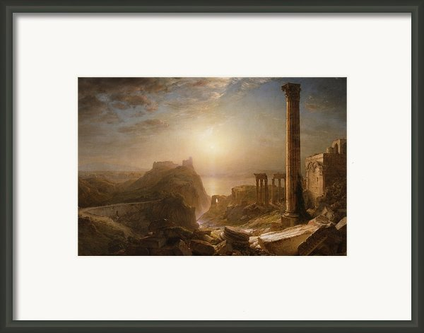 Syria By The Sea Framed Print By Frederic Edwin Church