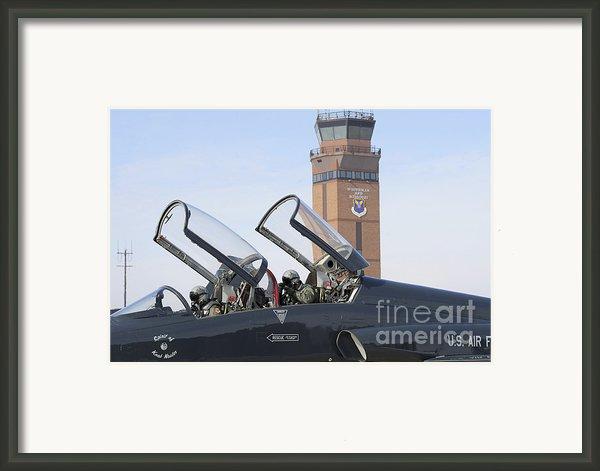 T-38 Talon Pilots Make Their Final Framed Print By Stocktrek Images