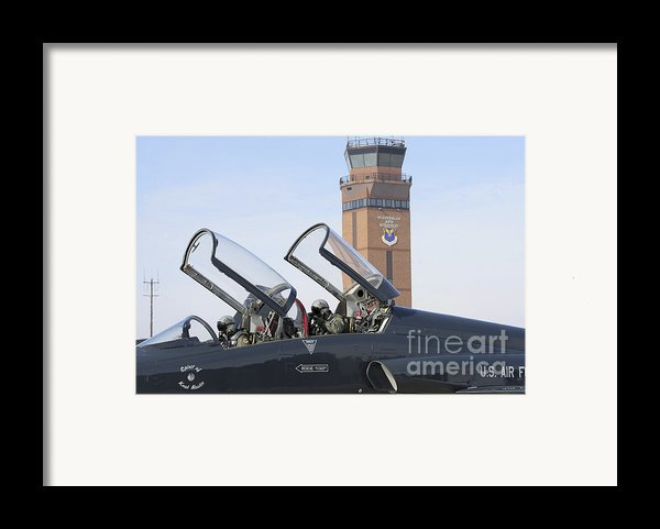 T-38 Talon Pilots Make Their Final Framed Print By Stocktrek Images
