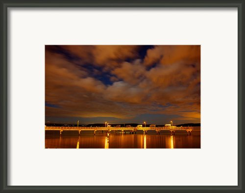 Tacoma Waterfront Framed Print By Robby Green