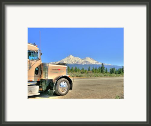 Taken A Break Framed Print By Peter Schumacher