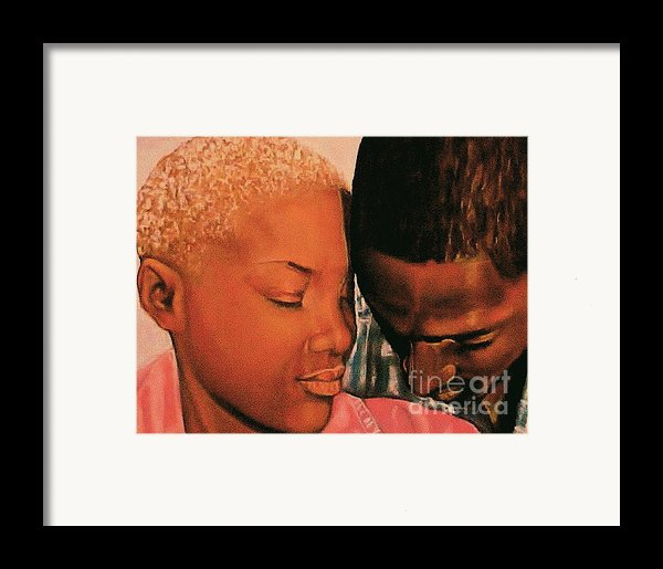Talk To Me Baby Ii Framed Print By Curtis James