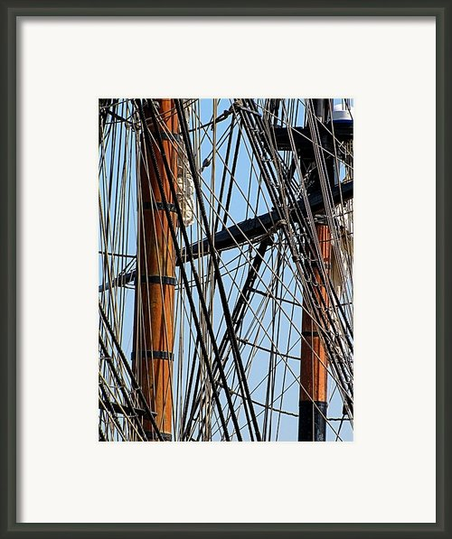 Tall Ship Series 11 Framed Print By Scott Hovind